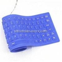 85 Keys Flexible Portable USB 2.0 Silicone QWERTY Keyboard