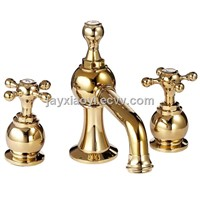 8 inch Widespread lavtory sink faucet NEW DESIGN 3 PCS BaSIN FAUCET