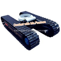 8 ton steel track frame with slewing joint(crawler undercarriage)