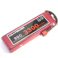 Agapower Lipo Battery with 50c 11.1v 3300mAh for RC helicopter