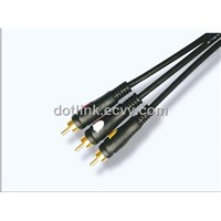 Audio Video Cable 3RCA to 3RCA Cable