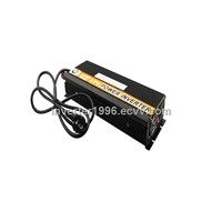 Automatic 12V DC to 220V AC Car Battery Charger with 1,500W Output Power