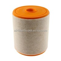 Automobile engine air filter for AUDI OE 4G013-3843