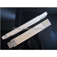Birch folding ruler zollstock pocket ruler measure ruler M2202