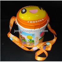 Bucket of popcorn  , food grade with smart shape ,Rich colour ,new design accepted.
