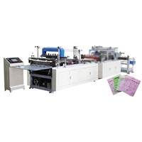 COMPUTER CONTROL NON WOVEN ZIPPER BAG MAKING MACHINE