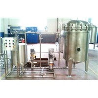 Candle type filter machine