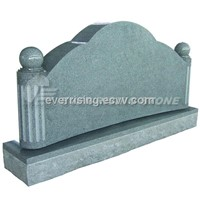 China Grey Granite Monument Tombstone