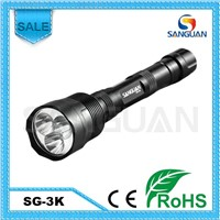 China Top Sale 26650 Battery Waterproof LED Flashlight Highlight Torch