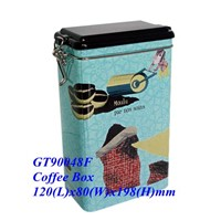 Coffee box, coffee case, coffee can, metal coffee case,coffee  Jar,metal coffee can