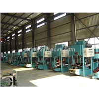 Colored tile making machine