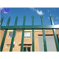 Crimped Top Steel Fencing
