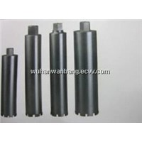 Diamond core bits for wet use