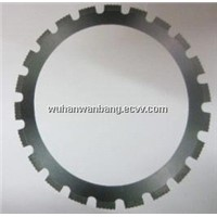 Diamond ring blades