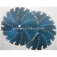 Diamond saw blades for brick