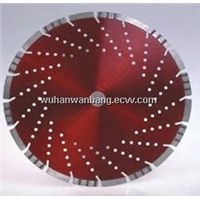 Diamond saw blades for concrete