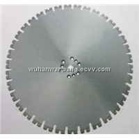 Diamond wall saw blades