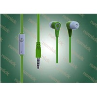(EP112)3.5mm Stereo Earphone with MIC In-Ear Headphones for MP3 Mobile Phone