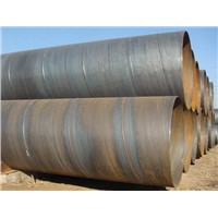 Spiral steel pipe  welding  steel pipe in China