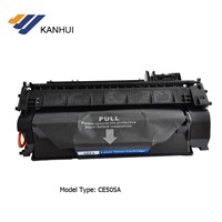 Economic new compatible toner cartridge CE505A for high quality white-black printing