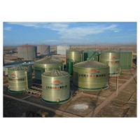 FRP large-scale storage tank