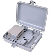 outdoor/indoor FTTH Fiber optic plastic Distribution box 08/16core Branch Frame waterproof PC/ABS