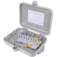 outdoor/indoor 32 core FTTH Fiber optic Distribution box waterproof IP55 SMC Material