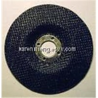 Fiberglass backing pad for flap discs