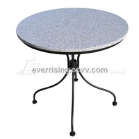 Grey Granite Table Top, Round Table Top