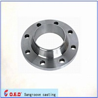 High procession cast steel flange