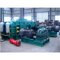 Hydraulic roll crusher