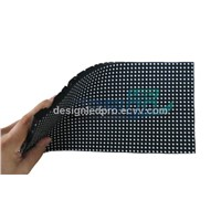 Indoor P6mm Flexible LED Video Display Screen Tile
