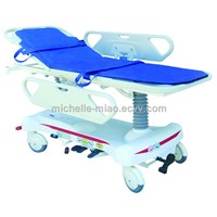 JHPC-104 Luxurious Hydraulic Stretcher To Bed Transfer
