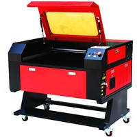 Laser Cutting and Engraving Machine ,working size:500*700mm/50W laser tube/UP&down platform