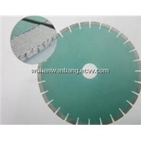 Line up diamond saw blades
