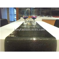 Metal Fabric Table Runner