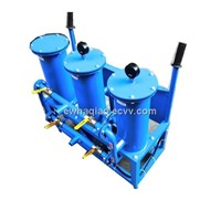 Movable oil purifier system equipped with three-stage filter,portable,easy to operate,very low price