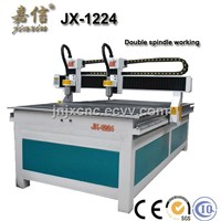 JX-1224SY JIAXIN Double Head Mini CNC Router Machine