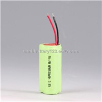 Ni-MH rechargeable battery pack(3.6V,600mAh)