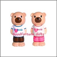 PVC Rubber Bear money box