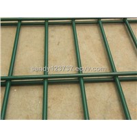 PVC coated double fence panel