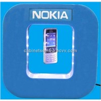 Perspex Nokia Cellphone Floating Levitation Display 220*280*50mm