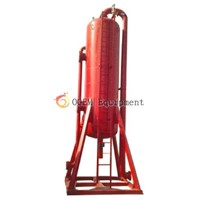 Poor boy degasser /mud gas separator supplier from china