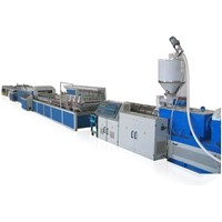 Profile extrusion line