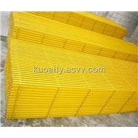 Pultruded frp grating, fiberglass grating floor, 25mm to 65mm thick