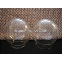 Round glass lamp shade