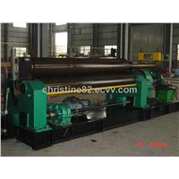 Three Roller Symmetrical Adjustable Coiling Machine