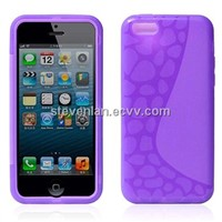 Transparent Protective Soft TPU Case for iPhone5C