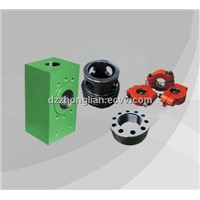 Valve box,clamp and other accessories