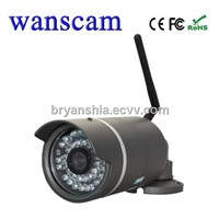 Wanscam(JW0016)-P2P, PNP MJPEG, CMOS Outdoor WIFI IP Security CMOS Camera